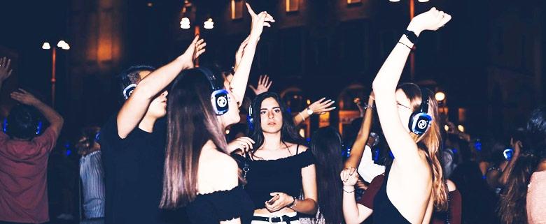 Silent Party Night Napoli