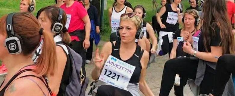 Parma Silent Fitness Walk