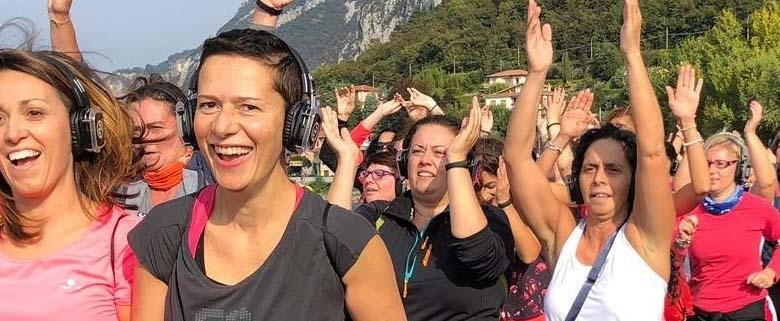 Fitness Walk Lugano Riva Lago