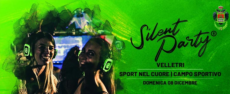 Silent Party Velletri 8 Dicembre