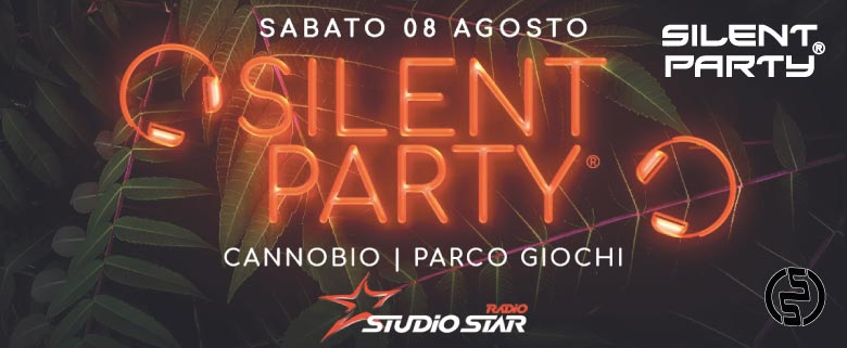 Silent Party Cannobio 8 Agosto