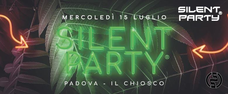 Silent Party Padova 15 Luglio