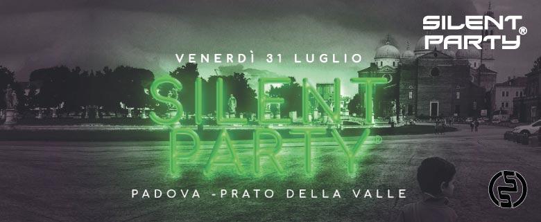 Silent Party Padova 31 Luglio
